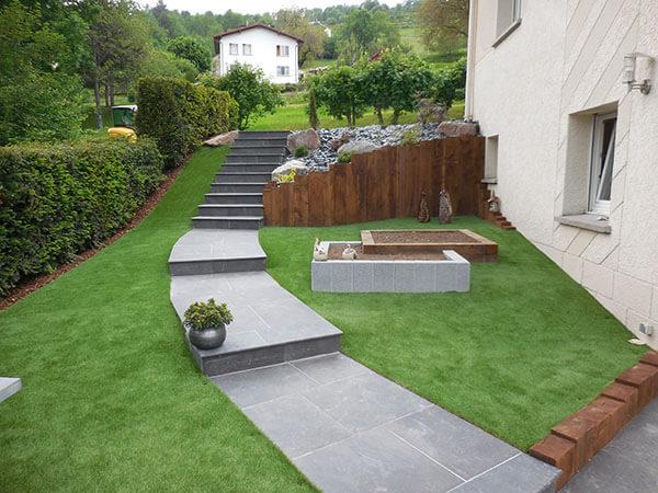 Aménagement paysager à Remiremont
