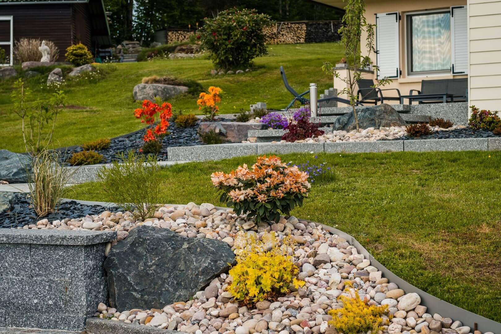 Aménagement de jardin à Xonrupt